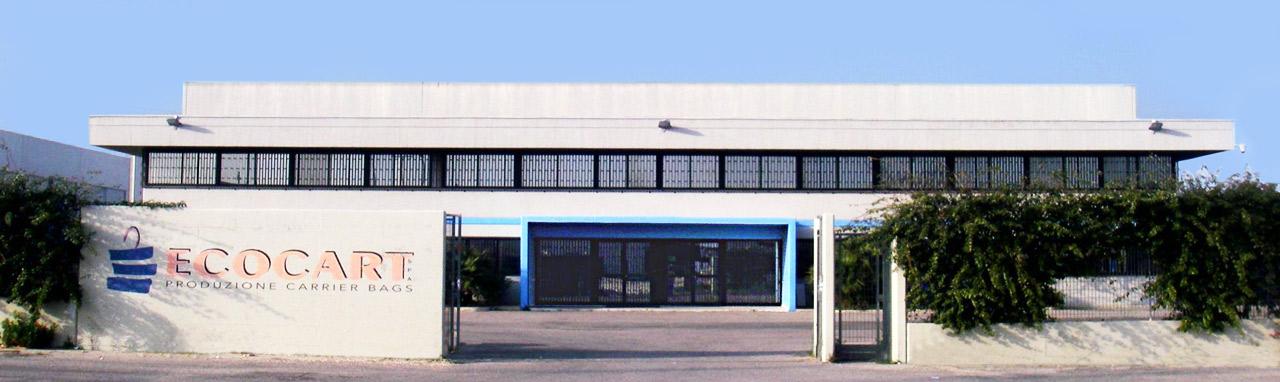 Entrée Ecocart Entreprise - Ecocart Spa Italie, Bari, Puglia