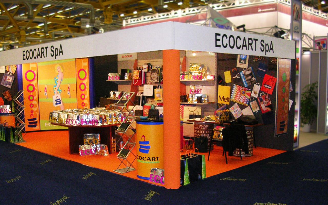 Stand Salon Ecocart Spa Italie - Ecocart Entreprise