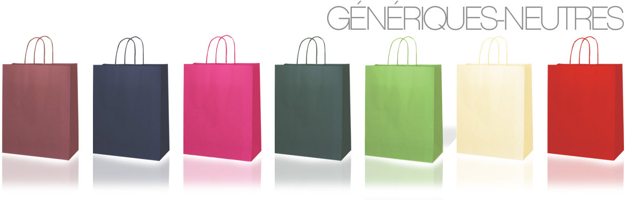 sacs en papier neutres - Ecocart Spa Italie