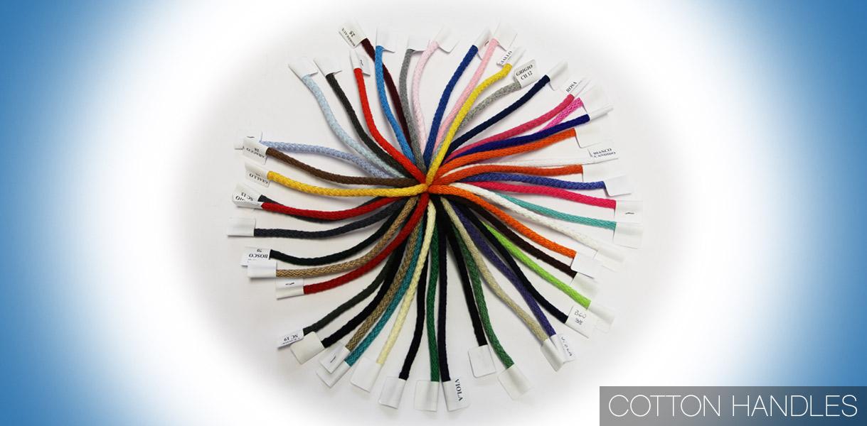 Sacs en papier personnalisés: Notre vaste gamme de poignées coton