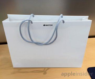 Sacs en papier pour respecter l'environnement: Apple Inc.